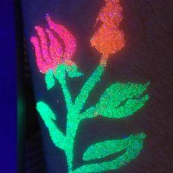 Különleges UV virág